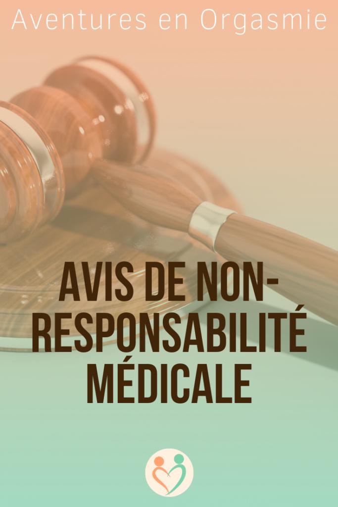avis de non-responsabilité médicale, contenus à titre informatif uniquement, respect de la loi, justice, textes officiels