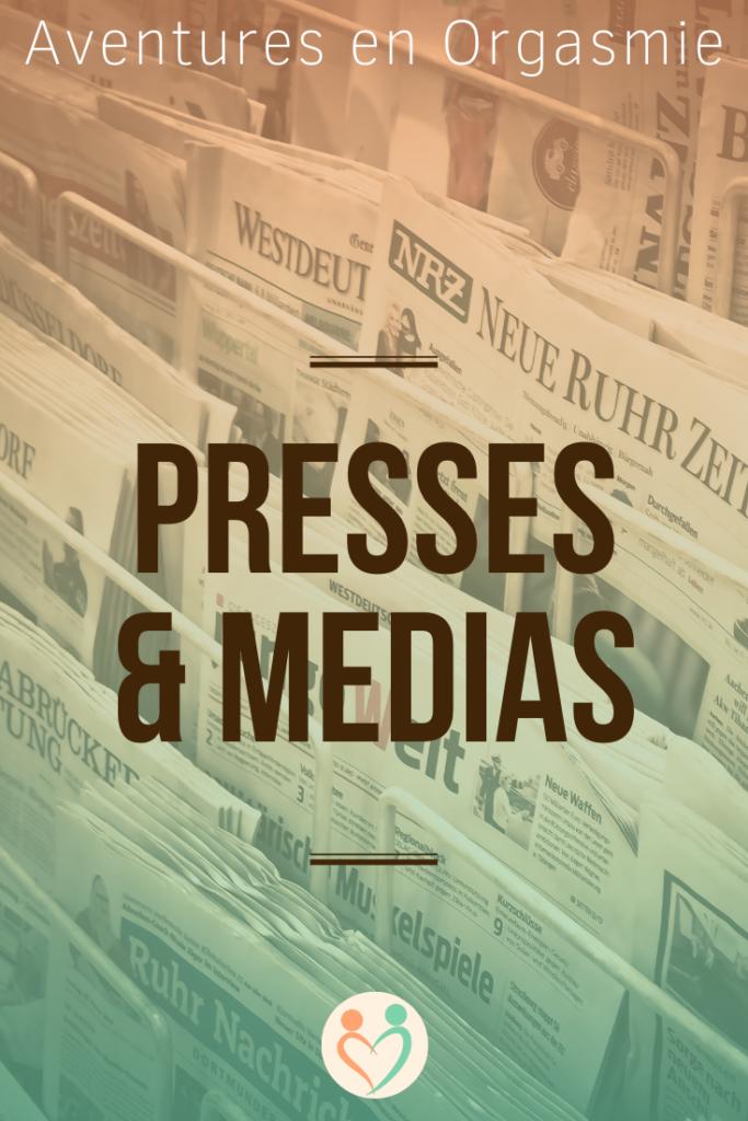 presses et médias, apparitions ailleurs sur le web, interview, podcast, plateau télé, radio, journal, blog